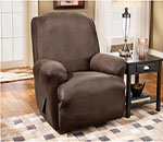 SureFit Stretch Leather Recliner Slipcover
